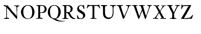 Archetype Small Caps Font UPPERCASE