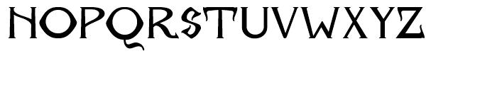 Archibald BA Regular Font UPPERCASE