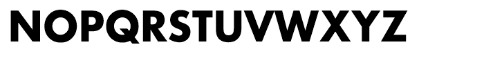 Architype Renner Bold Font UPPERCASE