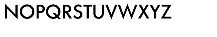 Architype Renner Medium Font UPPERCASE