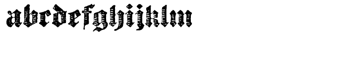 Archive Chased Black Font LOWERCASE