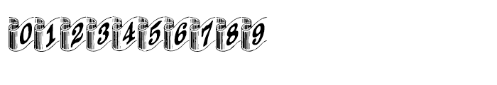 Archive Ribbon Regular Font OTHER CHARS