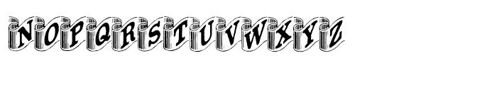 Archive Ribbon Regular Font UPPERCASE