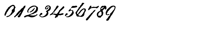 Archive Roundhand Script Font OTHER CHARS