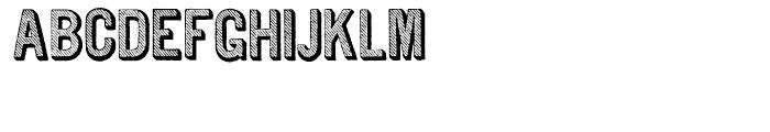 Archive Tilt Slanted Font UPPERCASE