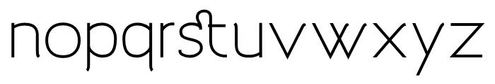 Archivio 700 Font LOWERCASE