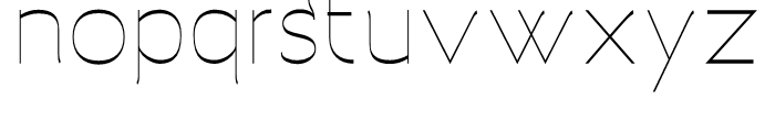 Archivio Inverted 400 Font LOWERCASE