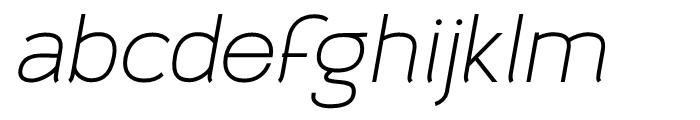 Archivio Italic 700 Font LOWERCASE