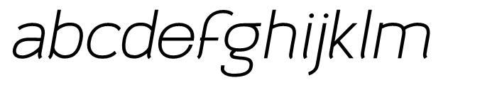 Archivio Italic 900 Font LOWERCASE