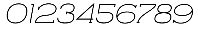 Archivio Italic Slab Rounded 400 Font OTHER CHARS