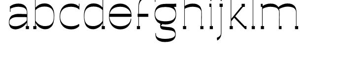 Archivio Slab Experimental 400 Font LOWERCASE