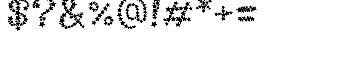 Arco Star Bright Font OTHER CHARS