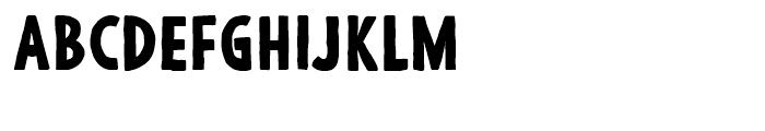 Argone Black Font UPPERCASE