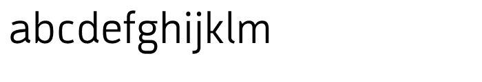Argumentum Light Font LOWERCASE
