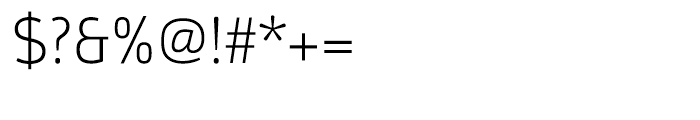 Argumentum Ultra Light Font OTHER CHARS