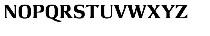 Argus Extra Bold Font UPPERCASE