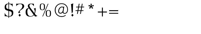 Argus Light Font OTHER CHARS