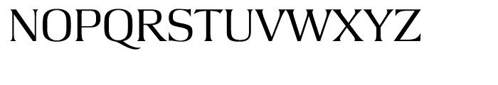 Argus Light Font UPPERCASE