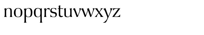 Argus Light Font LOWERCASE