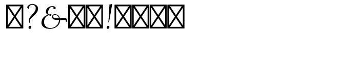Ariadne Roman Font OTHER CHARS