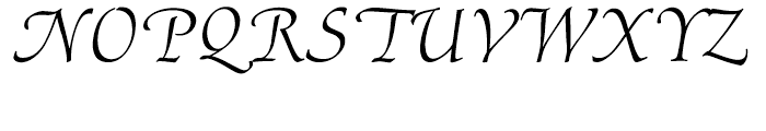 Ariadne Roman Font LOWERCASE