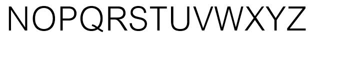 Arial Light Font UPPERCASE