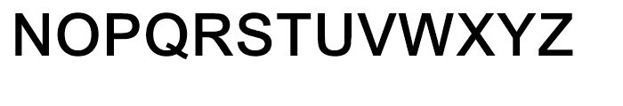 Arial Medium Font UPPERCASE