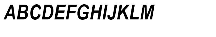 Arial Narrow Bold Italic Font UPPERCASE