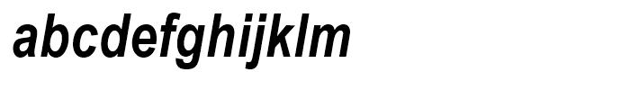 Arial Narrow Bold Italic Font LOWERCASE