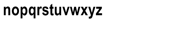 Arial Narrow Bold Font LOWERCASE