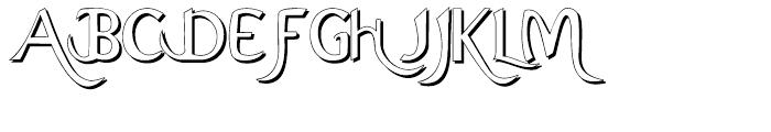Ariana Elegance Shadow Font UPPERCASE