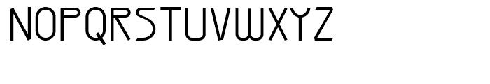 Arius Sans Light Font UPPERCASE