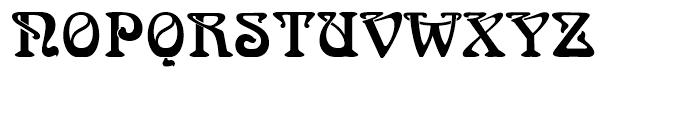 Arnold Bcklin Standard D Font UPPERCASE