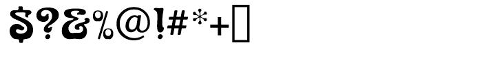 Arnold Bocklin Regular Font OTHER CHARS
