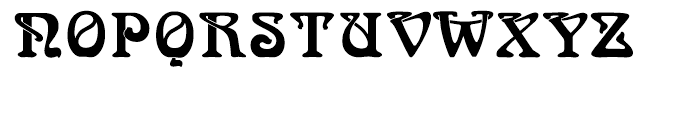 Arnold Bocklin Regular Font UPPERCASE