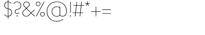Arnold Samuels Light Font OTHER CHARS