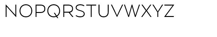 Arquitecta Light Font UPPERCASE