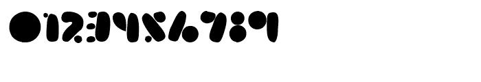 Arsenale Blue Regular Font OTHER CHARS