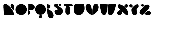Arsenale Blue Regular Font UPPERCASE