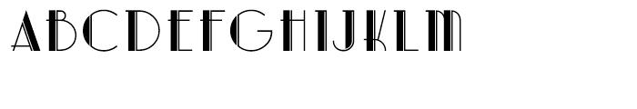 Artdeco Regular Font UPPERCASE