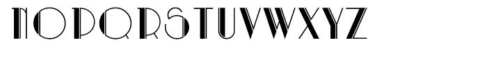 Artdeco Regular Font LOWERCASE