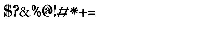 Artful Dodger Regular Font OTHER CHARS