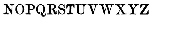 Artful Dodger Regular Font UPPERCASE