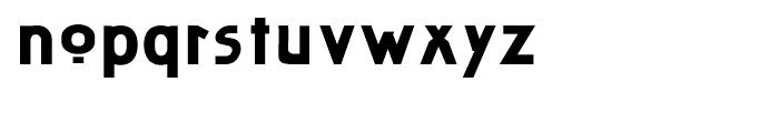 Artz Wide Font LOWERCASE