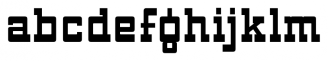 ARB 93 Steel Moderne SEP-39 CAS Bold Font LOWERCASE
