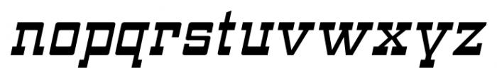ARB 93 Steel Moderne SEP-39 CAS Italic Font LOWERCASE
