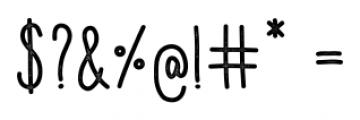 Aracne Condensed Stamp Regular Font OTHER CHARS