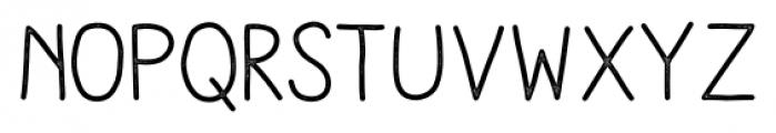 Aracne Stamp Regular Font LOWERCASE