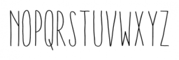Aracne Ultra Condensed Stamp Light Font LOWERCASE