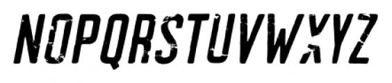 Arbuz Italic Font UPPERCASE